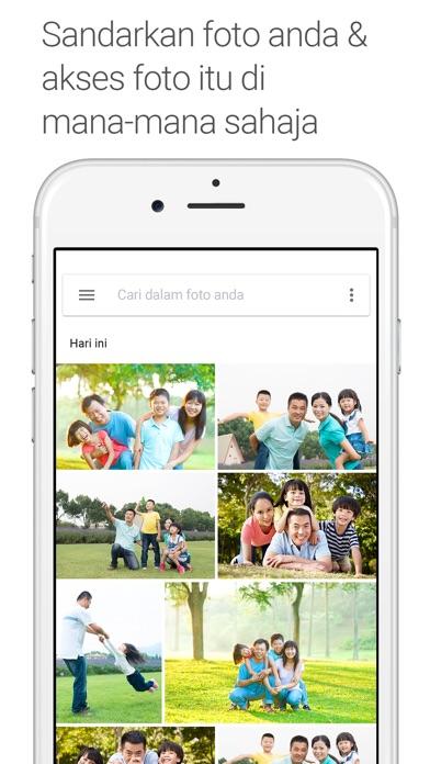 Screenshot for Foto Google in Malaysia App Store