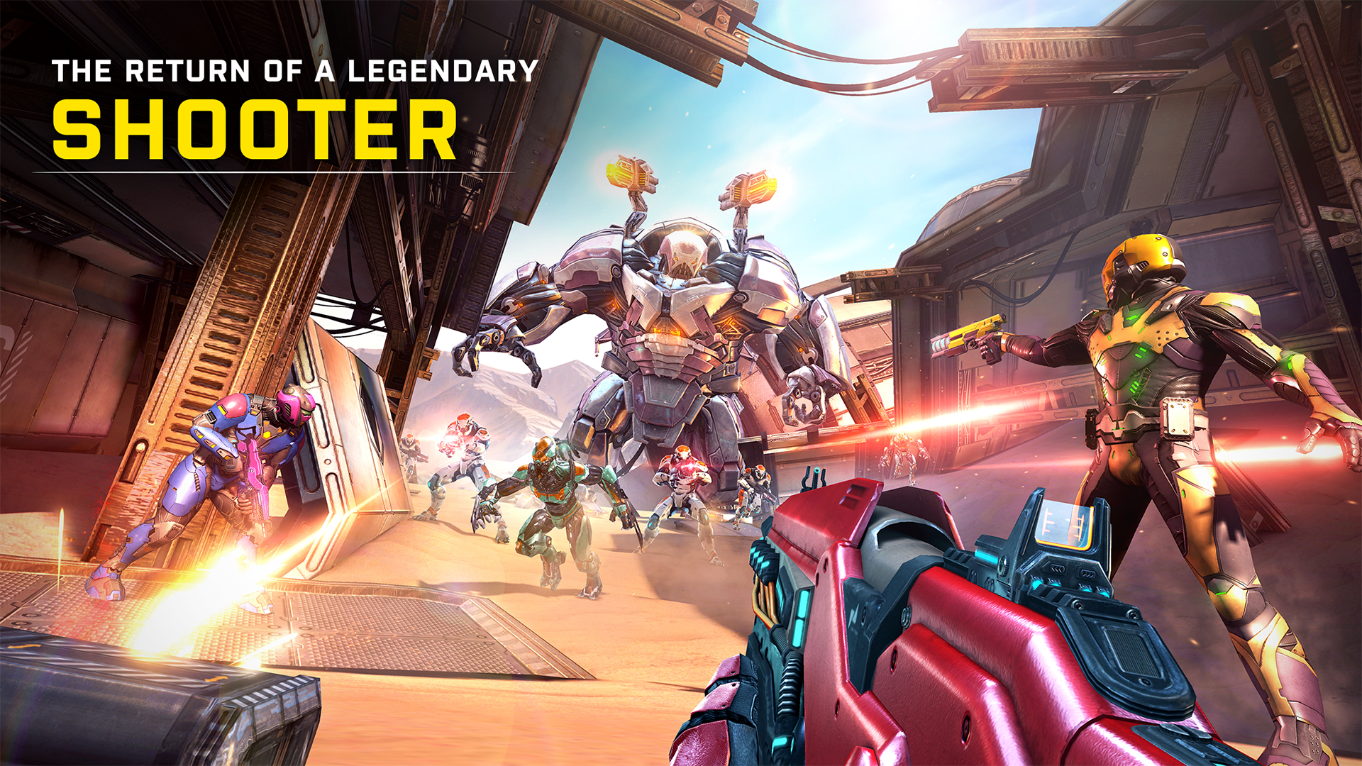 Shadowgun Legends: Online FPS screenshot 19