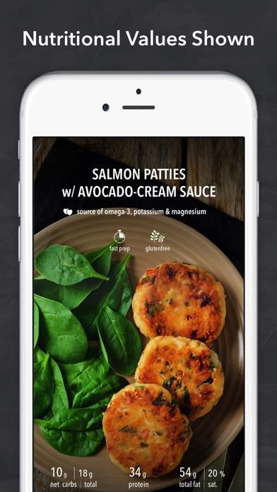 Screenshot for Keto diet & Ketogenic recipes in United Arab Emirates App Store