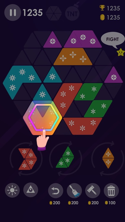 Make Turbo Hexa Puzzle