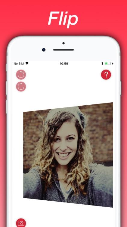 Photo Flipper - selfie mirror screenshot-0