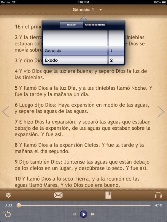 La Biblia Católica con audiobook para iPad screenshot-3