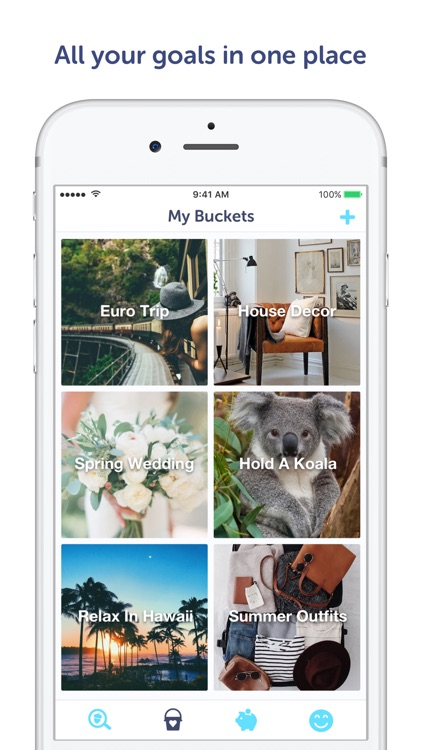 Squirrel Bucket List Goals app screenshot-1