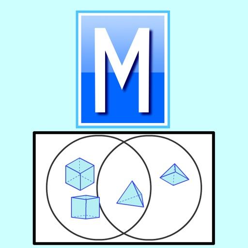 Sorting 3d Shapes Venn Diagram By Mathsframe Ltda