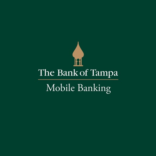 The Bank of Tampa Mobile Banking for iPad