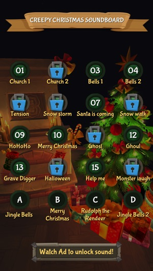 Creepy Christmas Soundboard on the App Store