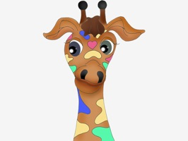 Spice up your iMessage conversations with these funny giraffe emotions from Palm Tale