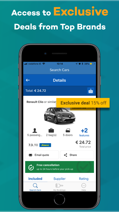 arguscarhire com – Car Rental | App Price Drops