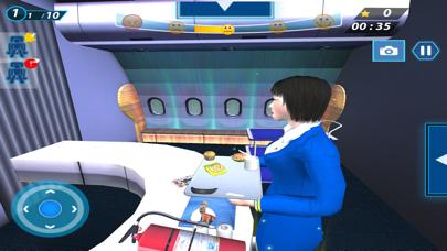 Flight Attendant Simulator 3D screenshot two