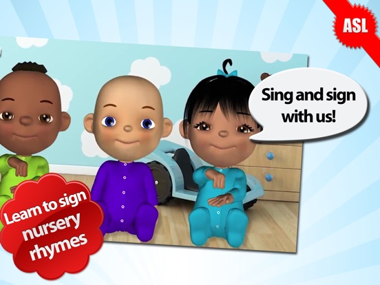 Baby Sign and Sing - ASL Nursery Rhymes-ipad-0
