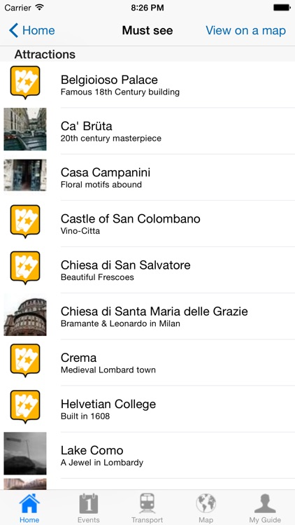 Milan Travel Guide Offline screenshot-3