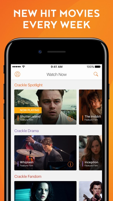 Crackle - Movies & TV Screenshots