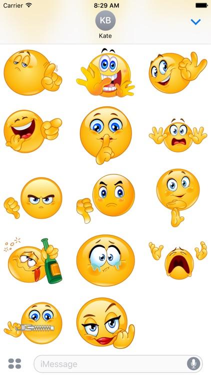 Rude Emoji Stickers screenshot-3