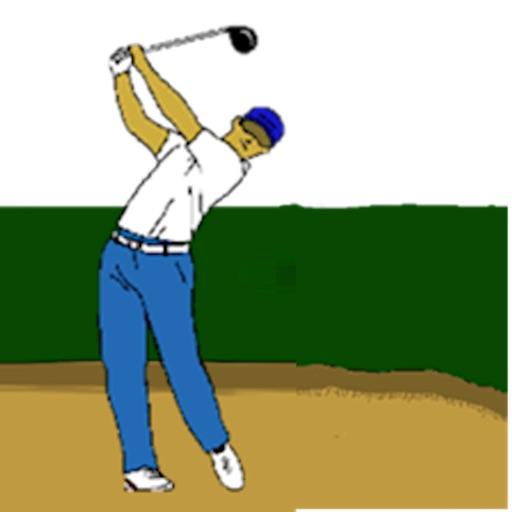 This is Golf GolfMoji Sticker