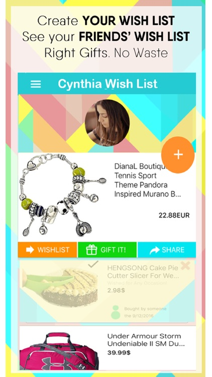 Wigigo - Wish Gifting App