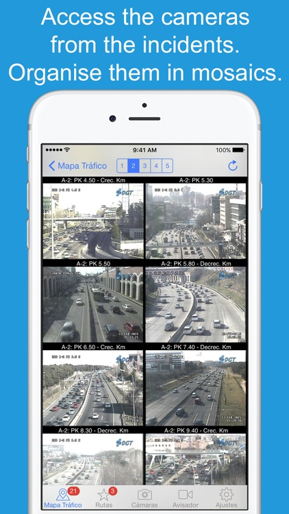 Skip Traffic Pro: cam detector screenshot-1