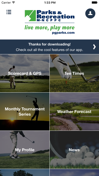 Prince George's County Golf screenshot two