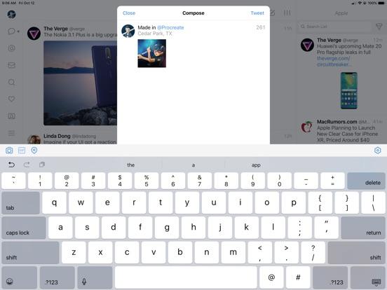 Tweetbot 5 for Twitter Screenshots