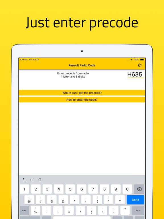 Radio Code for Renault Stereo screenshot 5