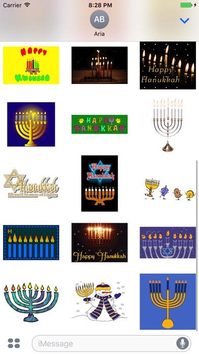 Animated Happy Hanukkah Gif screenshot 2