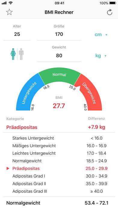 messages.download BMI Rechner Gewichtskontrolle software