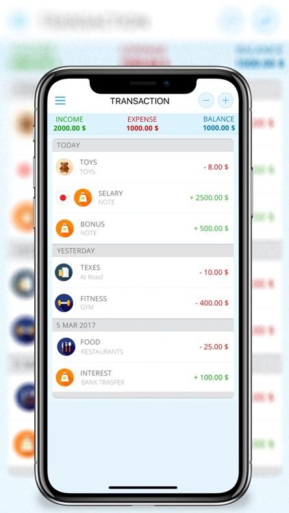 Money Tracker -Cost Management screenshot-3