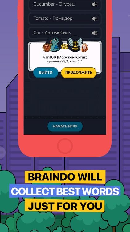 Braindo - play&learn English!