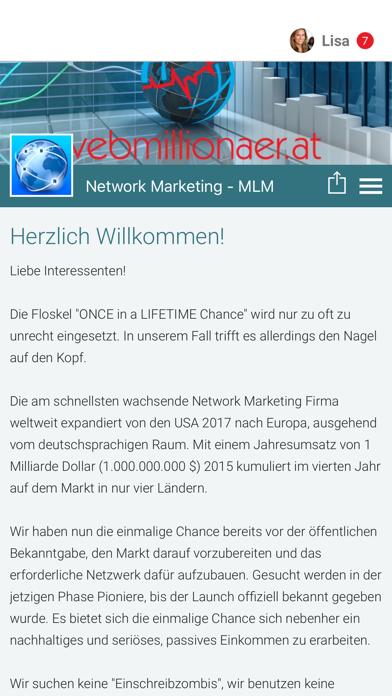 Network Marketing - MLM screenshot one