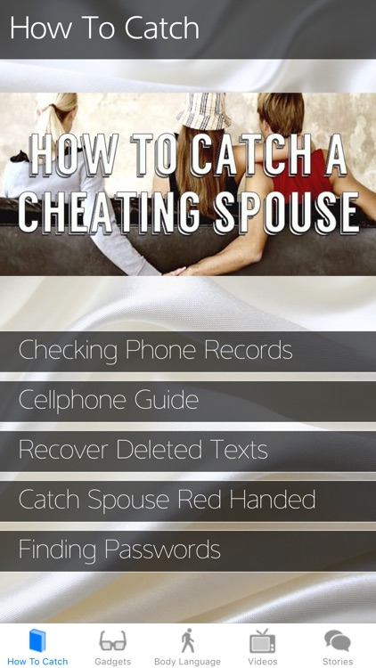 How To Catch a Cheating Spouse: Spy Tool Kit 2017
