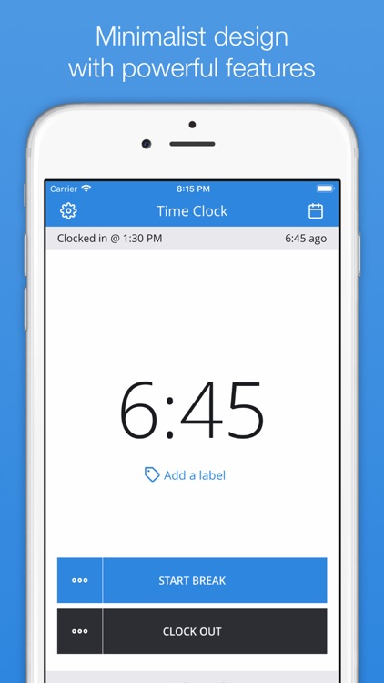 punch time clock hours tracker by trent morris