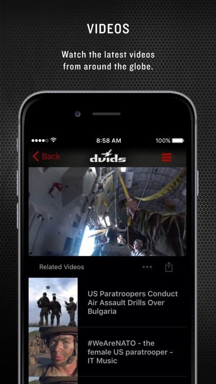 Military 24/7 for iPhone screenshot-4