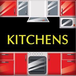 Kitchens. Interiors design