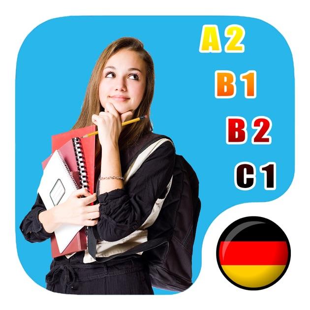 """Briefe Schreiben Deutsch Als Fremdsprache übungen Für A2 Und B1 : App store 上的""""schreiben b"""