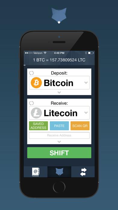ShapeShift - Crypto Converter - 窓用
