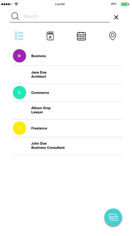 Swap - Contact Card Exchange screenshot-3