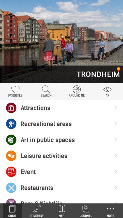 Official Trondheim Guide