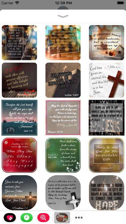 Bible Promises Cards Stickers