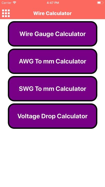 Wire Calculator