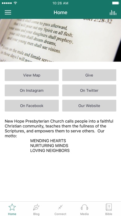New Hope PCA screenshot 1