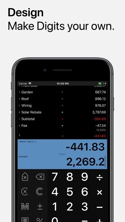 Digits Tape Calculator screenshot-7
