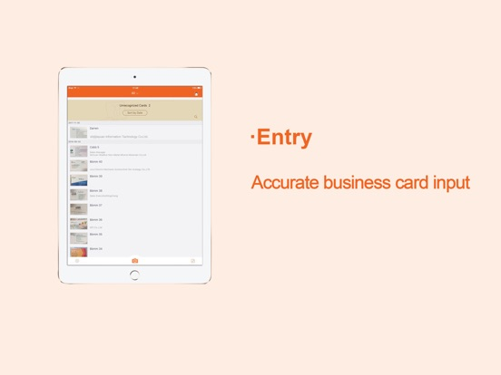 WeCard&business card scanner Screenshots
