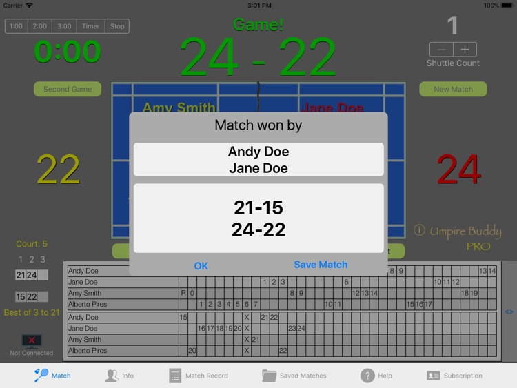 Umpire Buddy Pro screenshot-1