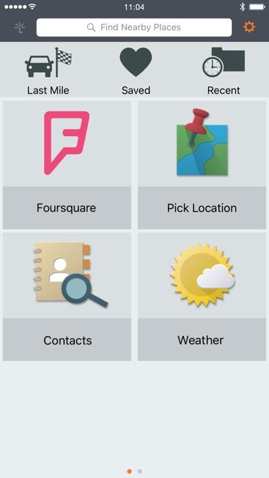 Garmin Smartphone Link Screenshot