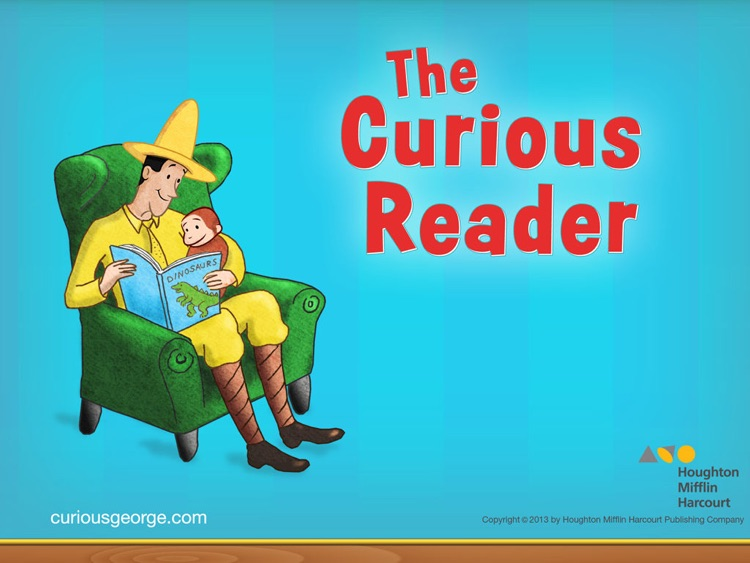 Curious George: Book Reader screenshot-0