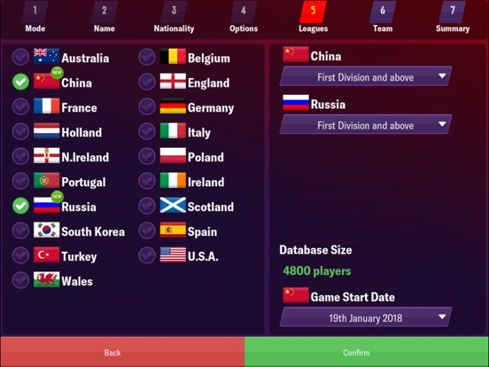 Football Manager 2019 Mobile screenshot #2