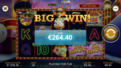 Cat in Vegas Slot Machine screenshot one