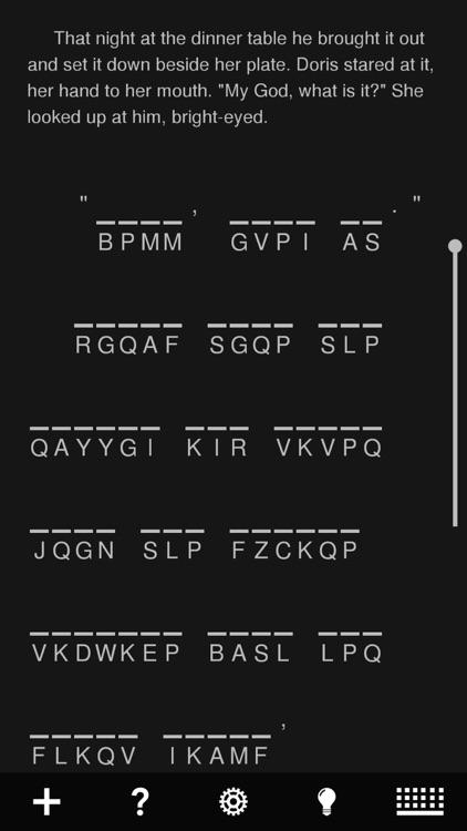 Cryptogram Tale screenshot-4