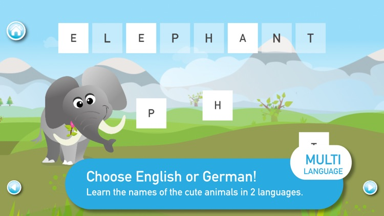 Kids learning ANIMAL WORDS screenshot-3