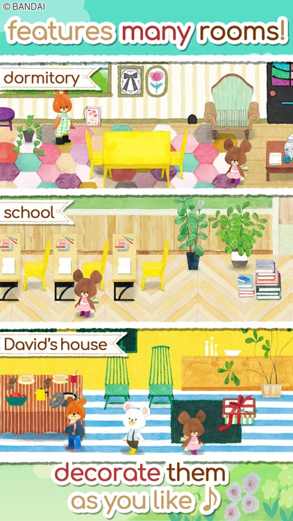 The Bears' School garden game screenshot-4