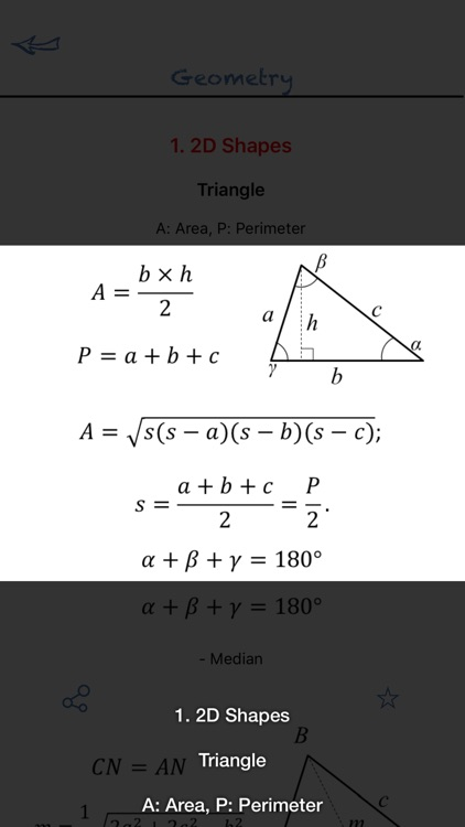 Math Formulas Basic screenshot-3